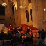 Koncert v Maule (France) s José Vázquez, Lucia Krommer - vdg, Achim Schulz - cembalo