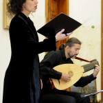 Haydnovy hudební slavnosti 2013, Irena Troupová - soprán, Jan Krejča - loutna Foto: Eva Hajšmnová
