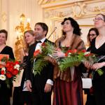 S orchestrm BERG na Pražském hradě.  Foto: Milan Linhart