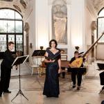 Collegium Musicum Brno a Irena Troupová na festivalu Hudba v zahradách a zámku v Kroměříži (Foto: Miroslav Pilát)